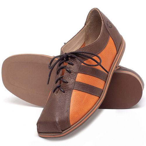 Laranja_Lima_Shoes_Sapatos_Femininos_Sapatilha_Alternativa_em_Couro_Laranja_-_Codigo_-_3058_2