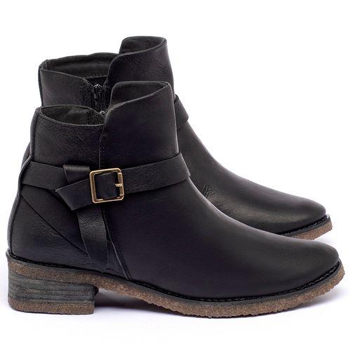 Laranja_Lima_Shoes_Sapatos_Femininos_Bota_Cano_Curto_em_Couro_Preto_-_Codigo_-_56231_1
