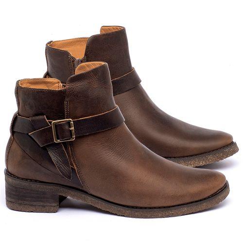 Laranja_Lima_Shoes_Sapatos_Femininos_Bota_Cano_Curto_em_Couro_Marrom_-_Codigo_-_56231_1