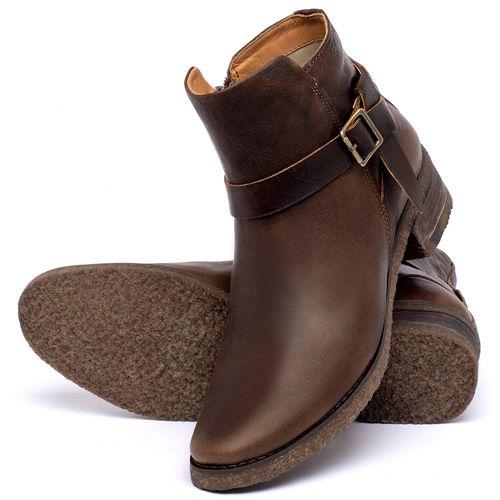 Laranja_Lima_Shoes_Sapatos_Femininos_Bota_Cano_Curto_em_Couro_Marrom_-_Codigo_-_56231_2