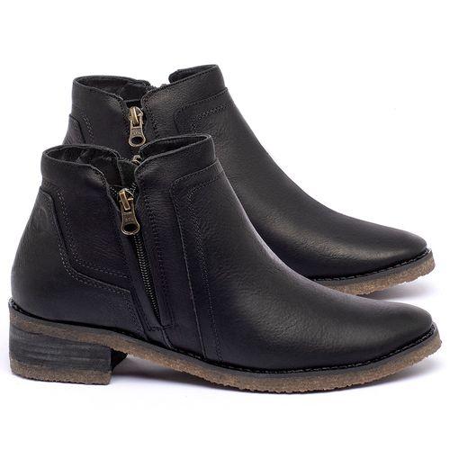 Laranja_Lima_Shoes_Sapatos_Femininos_Bota_Cano_Curto_em_Couro_Preto_-_Codigo_-_56234_1