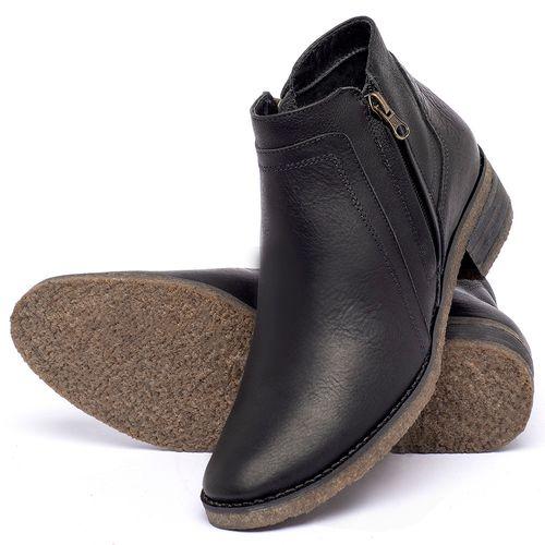 Laranja_Lima_Shoes_Sapatos_Femininos_Bota_Cano_Curto_em_Couro_Preto_-_Codigo_-_56234_2