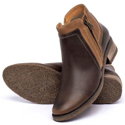 Laranja_Lima_Shoes_Sapatos_Femininos_Bota_Cano_Curto_em_Couro_Marrom_-_Codigo_-_56234_2