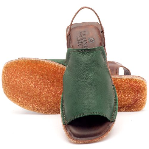 Laranja_Lima_Shoes_Sapatos_Femininos_Sandalia_Rasteira_Flat_em_Couro_Verde_-_Codigo_-_141043_2