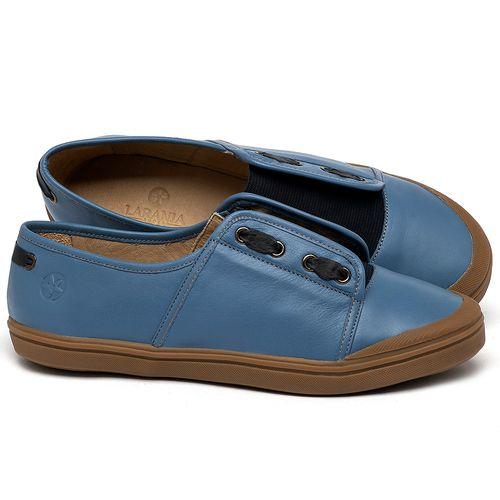 Laranja_Lima_Shoes_Sapatos_Femininos_Tenis_Cano_Baixo_em_Couro_Azul_-_Codigo_-_3744_1