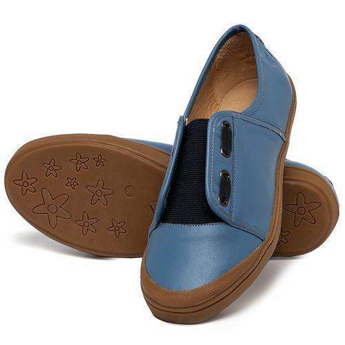 Laranja_Lima_Shoes_Sapatos_Femininos_Tenis_Cano_Baixo_em_Couro_Azul_-_Codigo_-_3744_2
