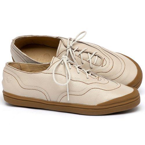 Laranja_Lima_Shoes_Sapatos_Femininos_Tenis_Cano_Baixo_em_Couro_Off-White_-_Codigo_-_3745_1