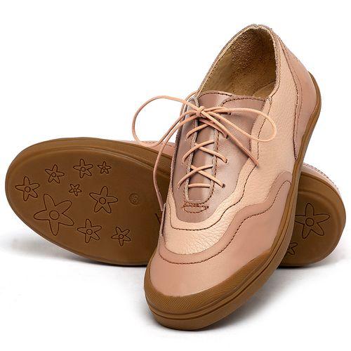 Laranja_Lima_Shoes_Sapatos_Femininos_Tenis_Cano_Baixo_em_Couro_Nude_-_Codigo_-_3745_2