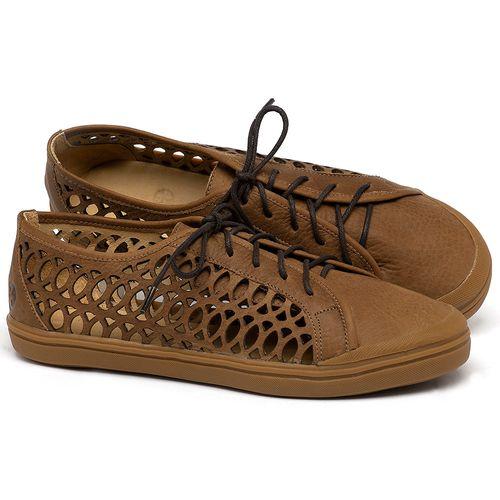 Laranja_Lima_Shoes_Sapatos_Femininos_Tenis_Cano_Baixo_em_Couro_Caramelo_-_Codigo_-_3746_1