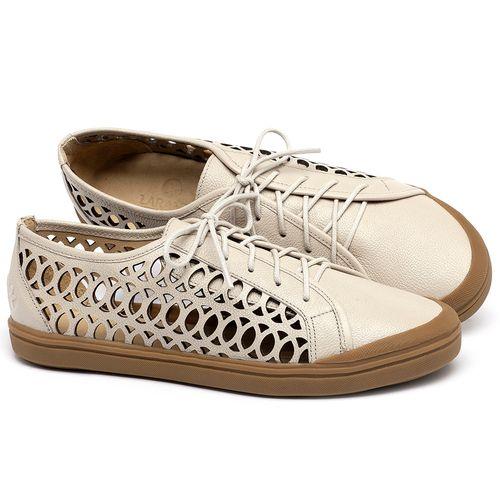 Laranja_Lima_Shoes_Sapatos_Femininos_Tenis_Cano_Baixo_em_Couro_Off-White_-_Codigo_-_3746_1