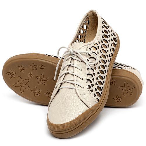 Laranja_Lima_Shoes_Sapatos_Femininos_Tenis_Cano_Baixo_em_Couro_Off-White_-_Codigo_-_3746_2