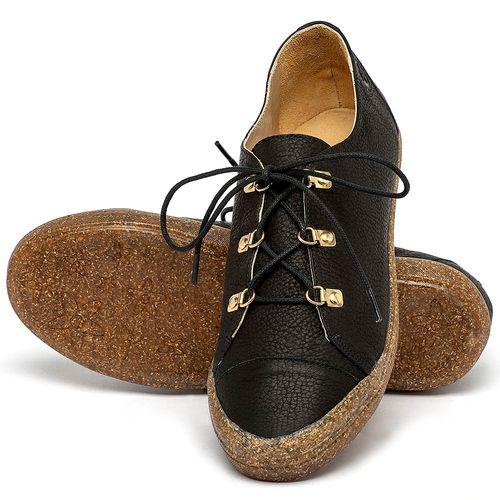 Laranja_Lima_Shoes_Sapatos_Femininos_Tenis_Cano_Baixo_em_Couro_Preto_-_Codigo_-_3747_2