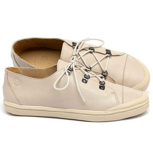 Laranja_Lima_Shoes_Sapatos_Femininos_Tenis_Cano_Baixo_em_Couro_Off-White_-_Codigo_-_3747_1