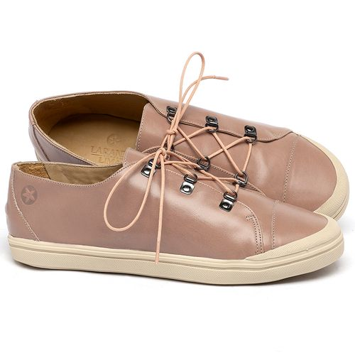 Laranja_Lima_Shoes_Sapatos_Femininos_Tenis_Cano_Baixo_em_Couro_Nude_-_Codigo_-_3747_1