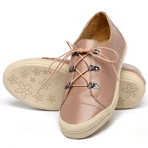 Laranja_Lima_Shoes_Sapatos_Femininos_Tenis_Cano_Baixo_em_Couro_Nude_-_Codigo_-_3747_2