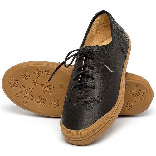 Laranja_Lima_Shoes_Sapatos_Femininos_Tenis_Cano_Baixo_em_Couro_Preto_-_Codigo_-_3748_2