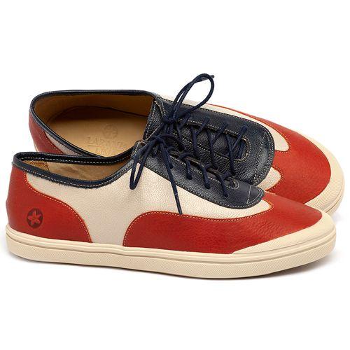 Laranja_Lima_Shoes_Sapatos_Femininos_Tenis_Cano_Baixo_em_Couro_Multicolor_-_Codigo_-_3748_1