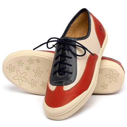 Laranja_Lima_Shoes_Sapatos_Femininos_Tenis_Cano_Baixo_em_Couro_Multicolor_-_Codigo_-_3748_2