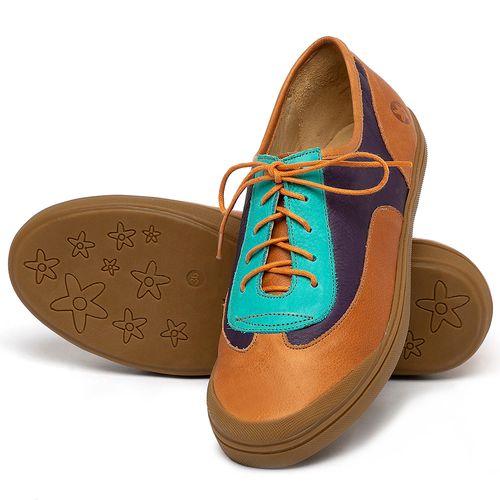 Laranja_Lima_Shoes_Sapatos_Femininos_Tenis_Cano_Baixo_em_Couro_Colorido_-_Codigo_-_3748_2