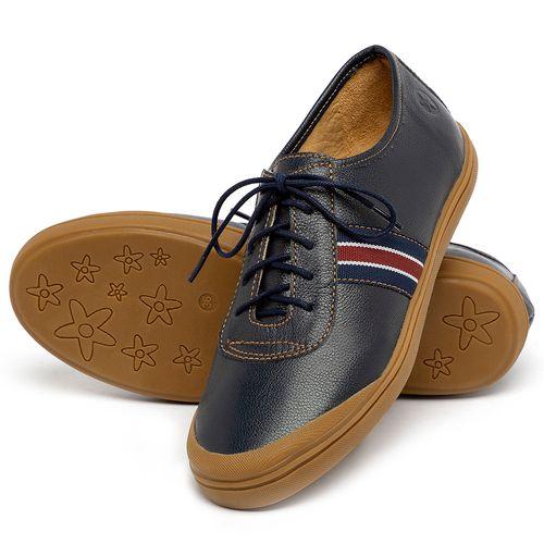 Laranja_Lima_Shoes_Sapatos_Femininos_Tenis_Cano_Baixo_em_Couro_Azul_-_Codigo_-_3749_2