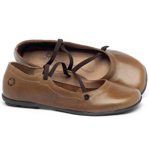 Laranja_Lima_Shoes_Sapatos_Femininos_Sapatilha_Bico_Quadrado_em_Couro_Caramelo_-_Codigo_-_9471_1