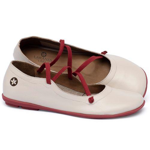 Laranja_Lima_Shoes_Sapatos_Femininos_Sapatilha_Bico_Quadrado_em_Couro_Off-White_-_Codigo_-_9471_1