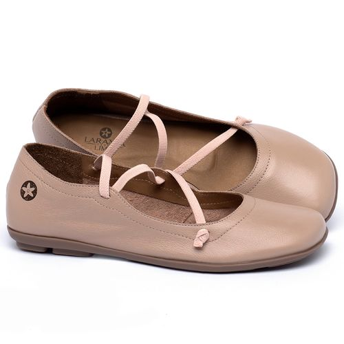 Laranja_Lima_Shoes_Sapatos_Femininos_Sapatilha_Bico_Quadrado_em_Couro_Nude_-_Codigo_-_9471_1