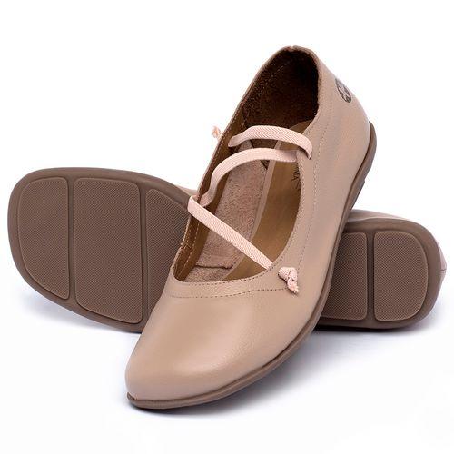 Laranja_Lima_Shoes_Sapatos_Femininos_Sapatilha_Bico_Quadrado_em_Couro_Nude_-_Codigo_-_9471_2
