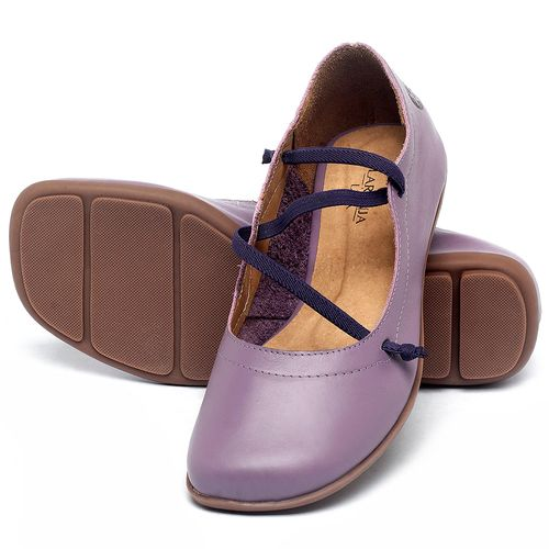 Laranja_Lima_Shoes_Sapatos_Femininos_Sapatilha_Bico_Quadrado_em_Couro_Lilas_-_Codigo_-_9471_2