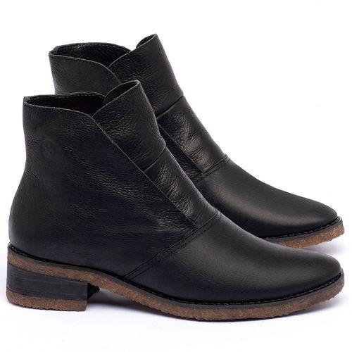 Laranja_Lima_Shoes_Sapatos_Femininos_Bota_Cano_Curto_em_Couro_Preto_-_Codigo_-_56232_1