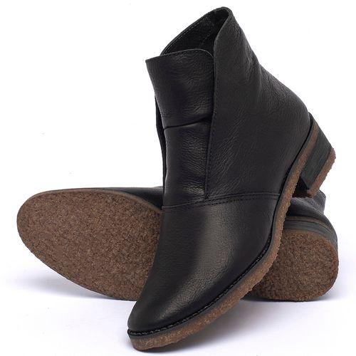 Laranja_Lima_Shoes_Sapatos_Femininos_Bota_Cano_Curto_em_Couro_Preto_-_Codigo_-_56232_2
