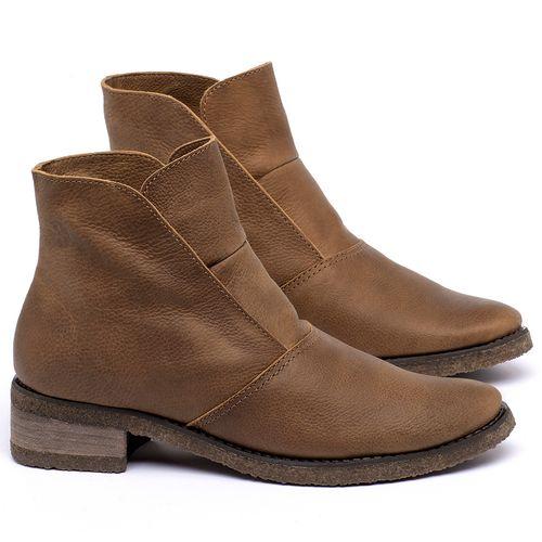 Laranja_Lima_Shoes_Sapatos_Femininos_Bota_Cano_Curto_em_Couro_Caramelo_-_Codigo_-_56232_1