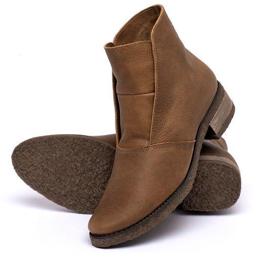 Laranja_Lima_Shoes_Sapatos_Femininos_Bota_Cano_Curto_em_Couro_Caramelo_-_Codigo_-_56232_2