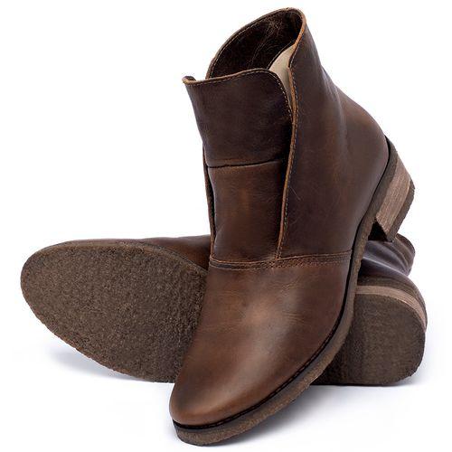 Laranja_Lima_Shoes_Sapatos_Femininos_Bota_Cano_Curto_em_Couro_Marrom_-_Codigo_-_56232_2