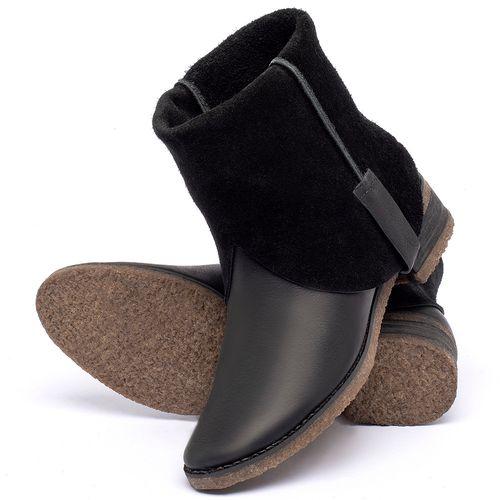 Laranja_Lima_Shoes_Sapatos_Femininos_Bota_Cano_Curto_em_Couro_Preto_-_Codigo_-_56235_2