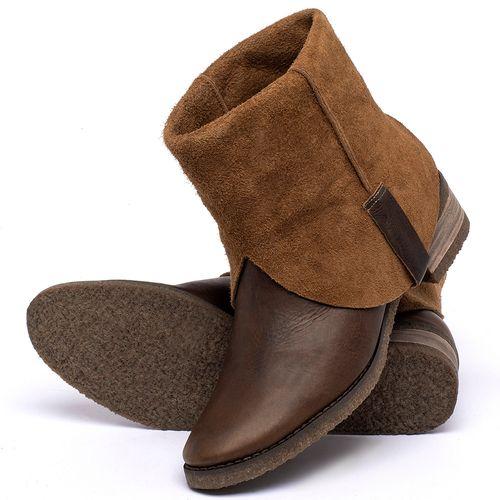 Laranja_Lima_Shoes_Sapatos_Femininos_Bota_Cano_Curto_em_Couro_Marrom_-_Codigo_-_56235_2