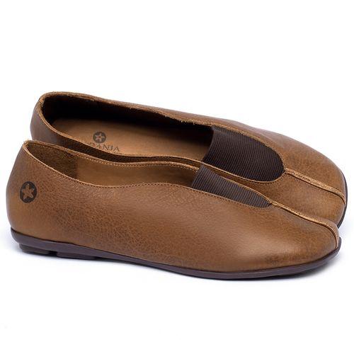Laranja_Lima_Shoes_Sapatos_Femininos_Sapatilha_Bico_Quadrado_em_Couro_Caramelo_-_Codigo_-_9494_1