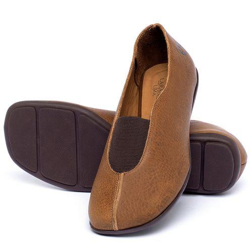 Laranja_Lima_Shoes_Sapatos_Femininos_Sapatilha_Bico_Quadrado_em_Couro_Caramelo_-_Codigo_-_9494_2