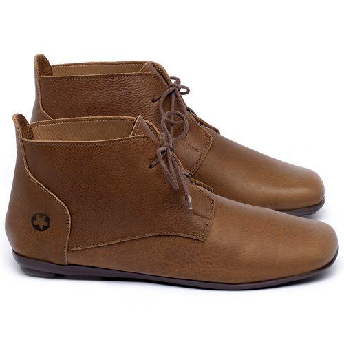Laranja_Lima_Shoes_Sapatos_Femininos_Flat_Boot_em_Couro_Caramelo_-_Codigo_-_9496_1