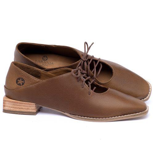 Laranja_Lima_Shoes_Sapatos_Femininos_Sapato_Laranja_Lima_Shoes_em_Couro_Caramelo_-_Codigo_-_9497_1
