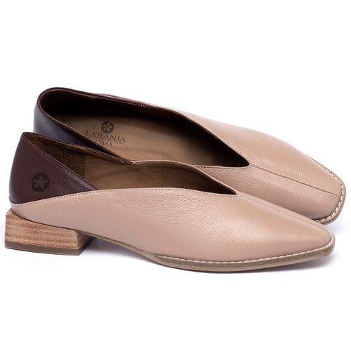 Laranja_Lima_Shoes_Sapatos_Femininos_Sapato_Laranja_Lima_Shoes_em_Couro_Nude_-_Codigo_-_9499_1