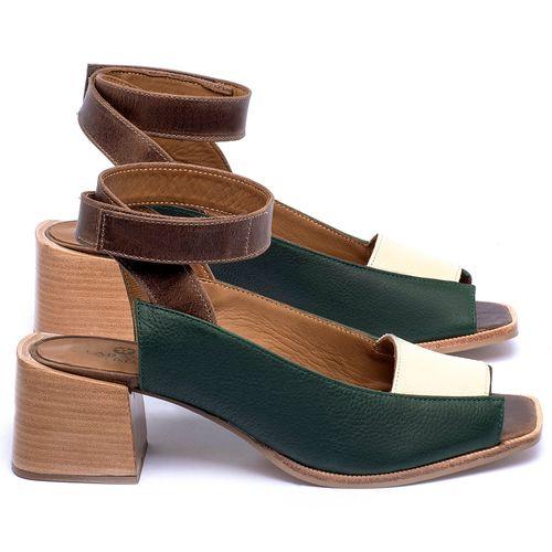Laranja_Lima_Shoes_Sapatos_Femininos_Sandalia_Laranja_Lima_Shoes_Classic_em_Couro_Multicolor_-_Codigo_-_9500_1