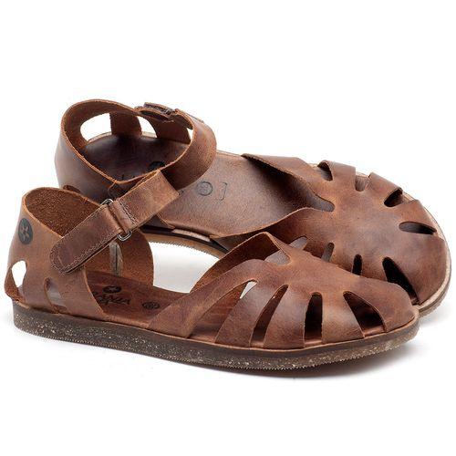 Laranja_Lima_Shoes_Sapatos_Femininos_Sandalia_Rasteira_Flat_em_Couro_Marrom_-_Codigo_-_141017_1