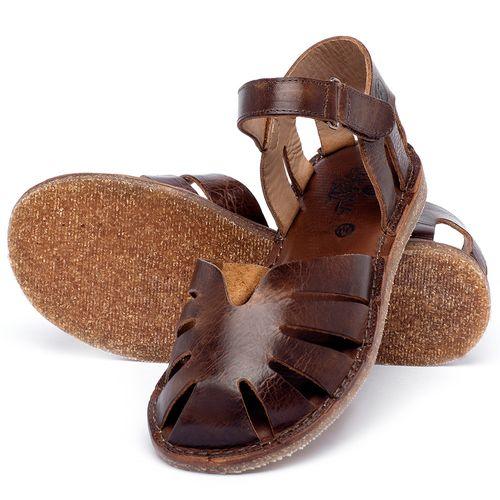 Laranja_Lima_Shoes_Sapatos_Femininos_Sandalia_Rasteira_Flat_em_Couro_Marrom_-_Codigo_-_141017_2