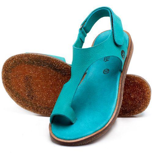 Laranja_Lima_Shoes_Sapatos_Femininos_Sandalia_Rasteira_Flat_em_Couro_Azul_-_Codigo_-_141102_2