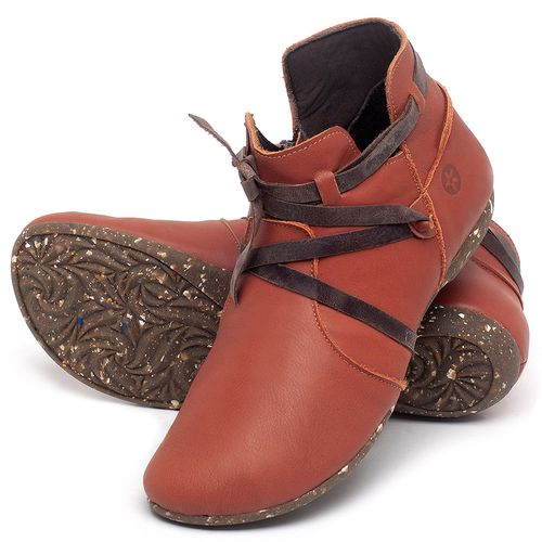 Laranja_Lima_Shoes_Sapatos_Femininos_Flat_Boot_em_Couro_Laranja_-_Codigo_-_148022_2
