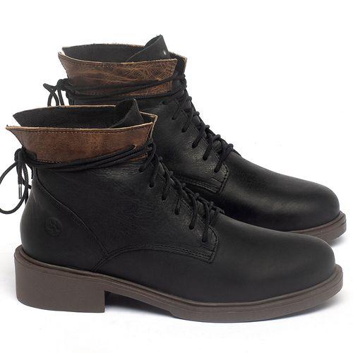 Laranja_Lima_Shoes_Sapatos_Femininos_Bota_Cano_Curto_Salto_de_3_cm_em_Couro_Preto_-_Codigo_-_137317_1