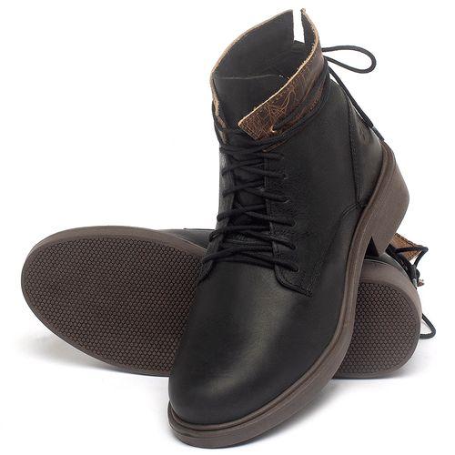 Laranja_Lima_Shoes_Sapatos_Femininos_Bota_Cano_Curto_Salto_de_3_cm_em_Couro_Preto_-_Codigo_-_137317_2