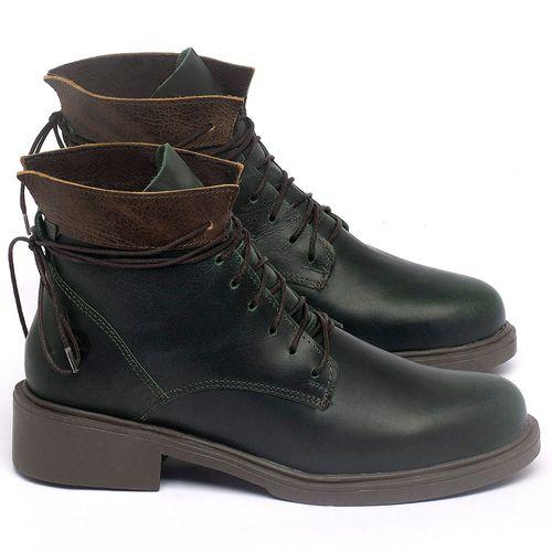 Laranja_Lima_Shoes_Sapatos_Femininos_Bota_Cano_Curto_Salto_de_3_cm_em_Couro_Verde_-_Codigo_-_137317_1