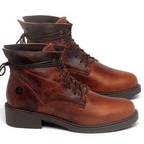 Laranja_Lima_Shoes_Sapatos_Femininos_Bota_Cano_Curto_Salto_de_3_cm_em_Couro_Laranja_-_Codigo_-_137317_1